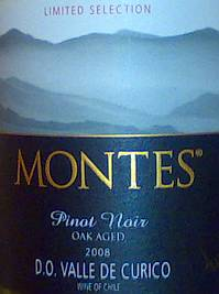 Montes Limited Selection Pinot Noir Oak Aged