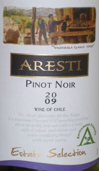Aresti Pinot Noir Estate Selection