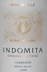 Indomita Selected Varietal Carmenere