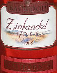 Baywood Zinfandel Rose