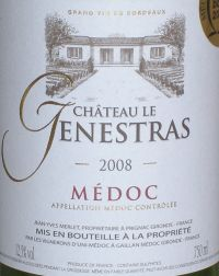 Chateau Le Genestras Medoc