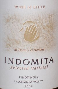 Indomita Selected Varietal Pinot Noir