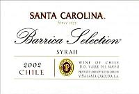 Santa Carolina Barrica Selection Syrah (Gran Reserva)