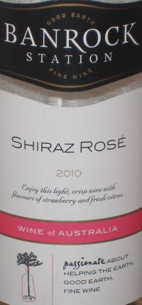 Banrock Station Shiraz Rose